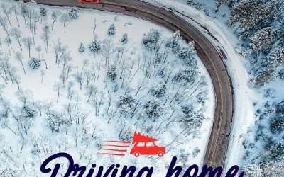 Kerstpakketten trend Driving home