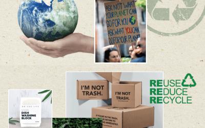 Kerstpakketten trend Save the planet